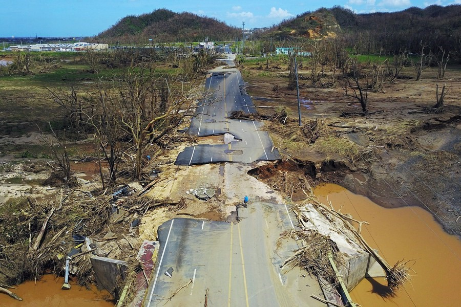 hurricane damages in Puerto Rico